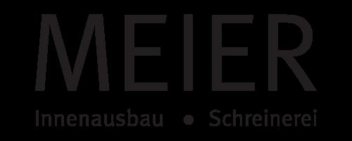Meier Logo schwarz
